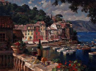 Picture of Portofino Afternoon