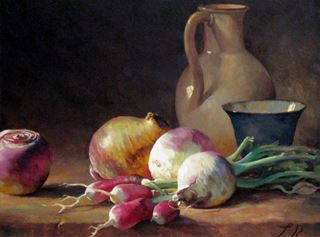Picture of Still Life with Radishes