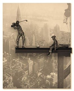 Picture of Tee Time Atop the Empire State Building