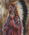 Picture of Undaunted Leader - Lakota