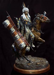 Picture of Cheyenne War Party Leader