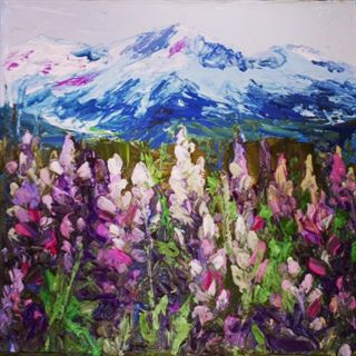 Picture of Mountain Lupines