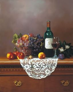 Picture of Grapes & Wine
