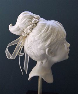 Picture of Porcelain Flower Girl (side)