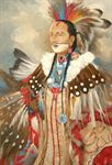 Picture of Nez Perce Warrior