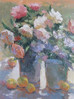 Picture of Peonies and Lemons