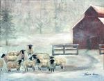 Picture of Winter Sheep