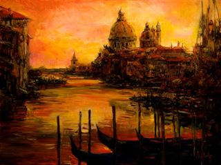 Picture of Twilight Venice