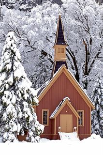 Picture of Winter Chapel - Yosemite