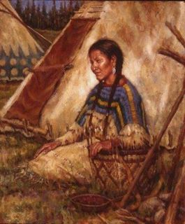 Picture of An Idle Moment - Blackfoot