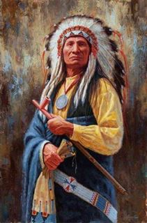 Picture of Mahpiya Lutu - Red Cloud