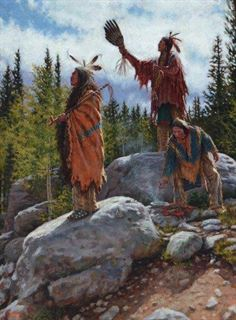 Picture of Oglala Offerings - Oglala Lakota