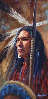 Picture of The Warrior's Gaze - Cheyenne
