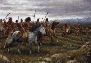 Picture of The Encounter - Blackfoot