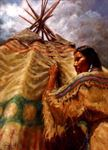 Picture of Watching the Storm - Blackfoot