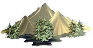 Picture of Little Peaks (Silver)