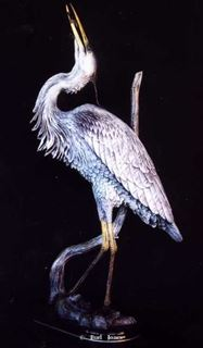 Picture of Blue Heron Fishing