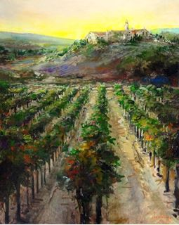 Picture of Autumn Vineyard