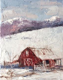 Picture of Winter Barn