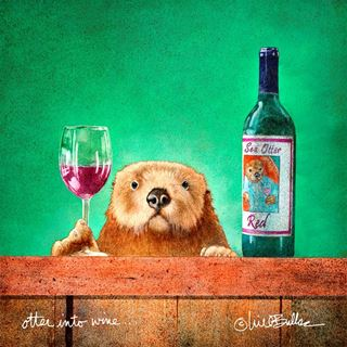 Picture of Otter Into Wine