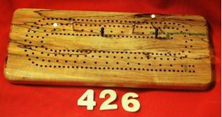 Picture of #426 Cribbage Board